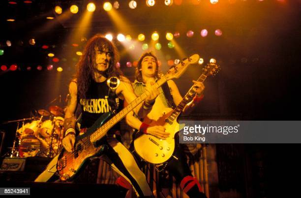 iron maiden entertainment group stock photos and pictures getty images. Black Bedroom Furniture Sets. Home Design Ideas