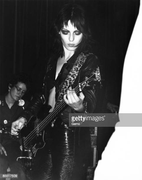 Photo of ADVERTS Gaye Advert performing on stage