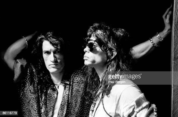 Photo of AEROSMITH Amsterdam Aerosmith Joe Perry Steven Tyler