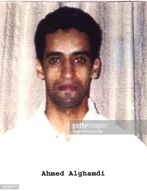 FBI photo of Ahmed Alghamdi one of the suspected hijacker terrorists on United flight