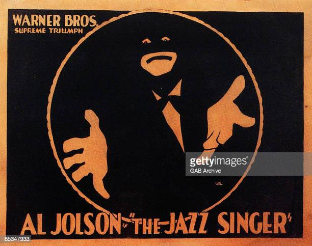 Photo of Al JOLSON Film poster for The Jazz Singer