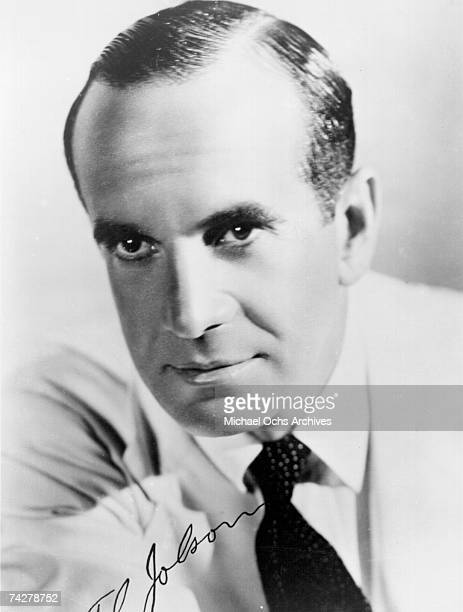 Photo of Al Jolson Photo by Michael Ochs Archives/Getty Images