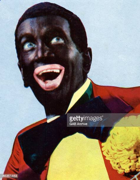 Photo of Al JOLSON With blacked up face in the Jazz Singer
