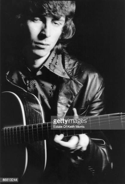 Photo of Al STEWART posed with guitar