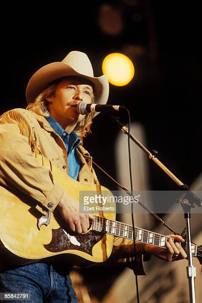 UNSPECIFIED JANUARY 01 Photo of Alan JACKSON Alan Jackson performing at Farm Aid in Indianapolis Indiana on April 7 1990