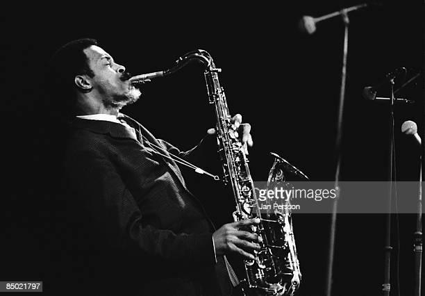Photo of Albert Ayler 1; Albert Ayler in concert Copenhagen october 1966
