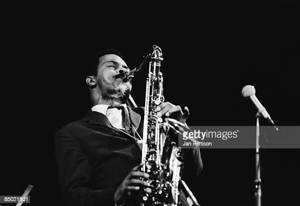Photo of Albert Ayler 3; Albert Ayler in concert Copenhagen october 1966