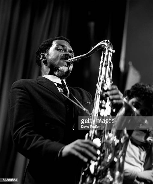 Photo of Albert AYLER; Performing live on stage