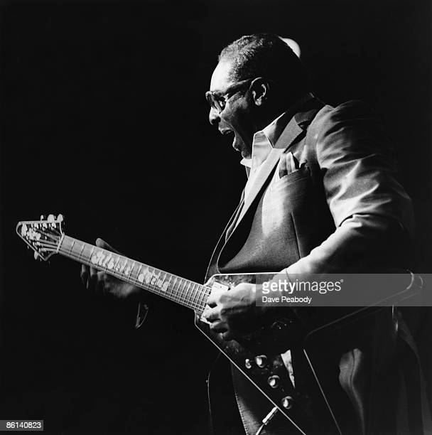 Photo of Albert KING performing at the Astoria Theatre