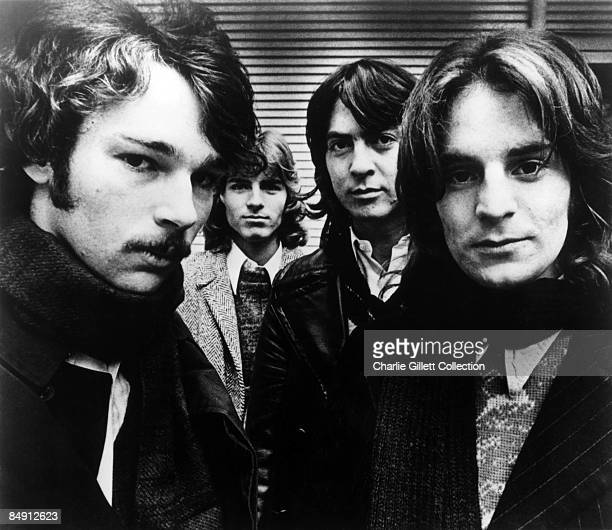 Photo of Alex CHILTON and BIG STAR Chris Bell Jody Stephens Andy Hummel and Alex Chilton posed