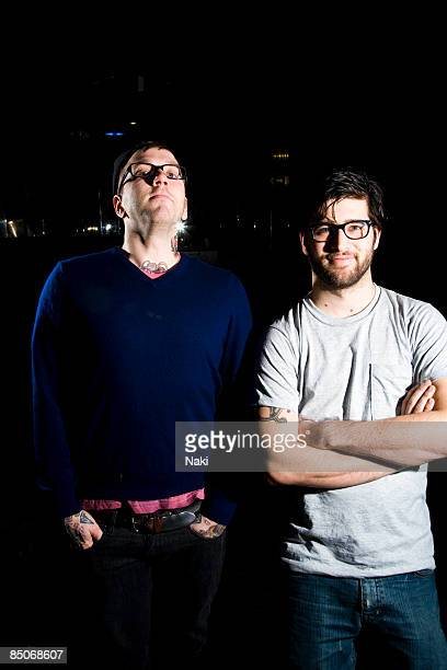 ASTORIA Photo of ALEXISONFIRE Posed portrait of Dallas Green and George Pettit