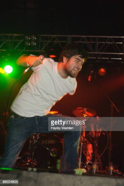 FESTIVAL Photo of ALEXISONFIRE Reading Festival 2006 Alexis on fire lockup stage