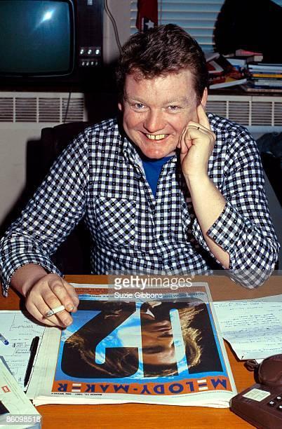 Photo of Allan JONES Editor of Melody Maker