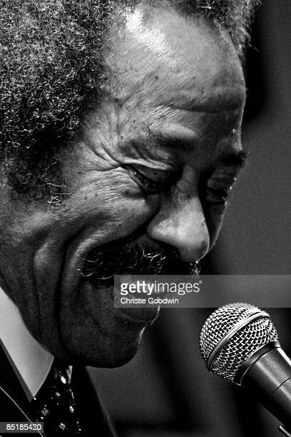 ARENA Photo of Allen TOUSSAINT Allen Toussaint performing on stage at the Festival New Orleans