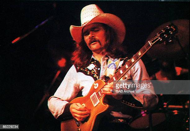 USA Photo of ALLMAN BROTHERS and Dickey BETTS