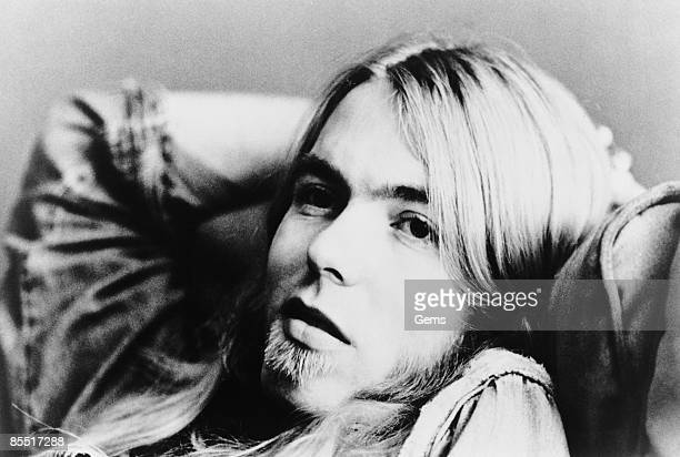 Photo of ALLMAN BROTHERS and Greg ALLMAN Posed portrait of Greg Allman