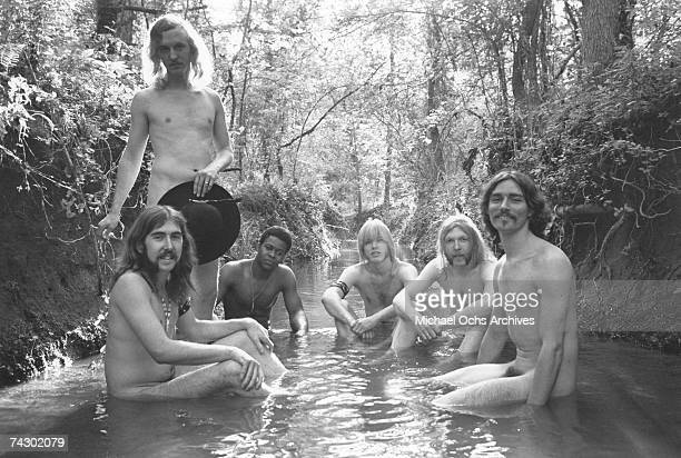 Photo of Allman Brothers May 5 1969Muscle Shoals Alabama Photo by Michael Ochs Archives/Getty Images
