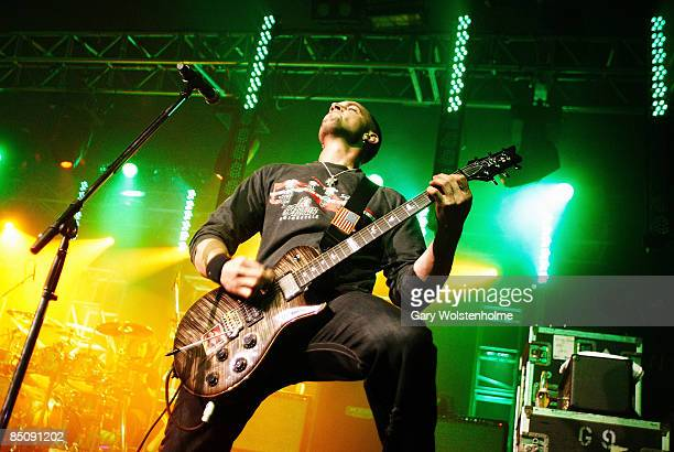 SHEFFIELD Photo of ALTER BRIDGE and Mark TREMONTI Mark Tremonti performing live onstage