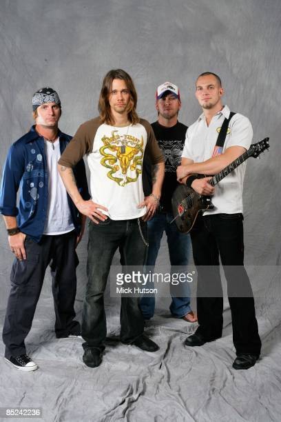 Photo of ALTER BRIDGE Brian Marshall Myles Kennedy Scott Phillips Mark Tremonti