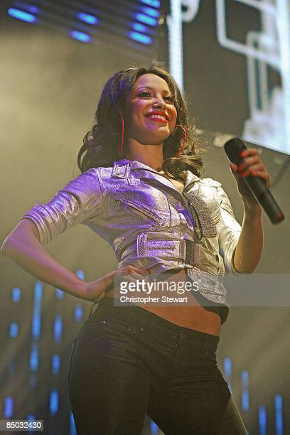 ARENA Photo of Amelle BERRABAH and SUGABABES Amelle Berrabah performing live on stage