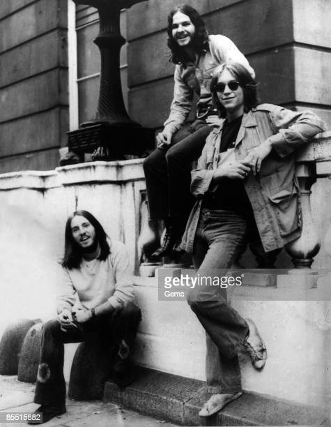 Photo of AMERICA c 1972 L R Dewey Bunnell Dan Peek and Gerry Beckley