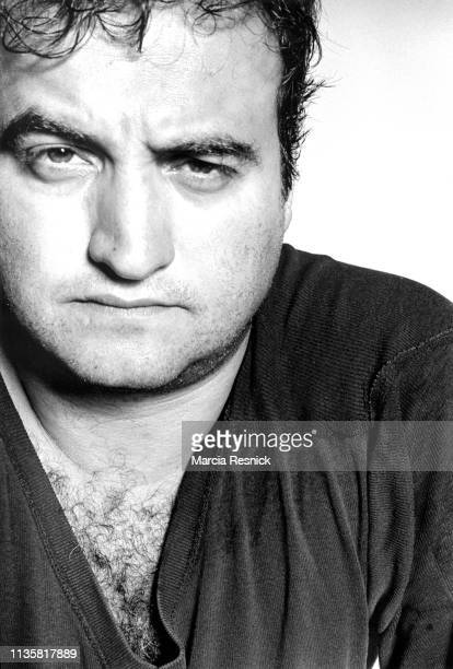 Photo of American actor and comedian John Belushi New York New York 1981