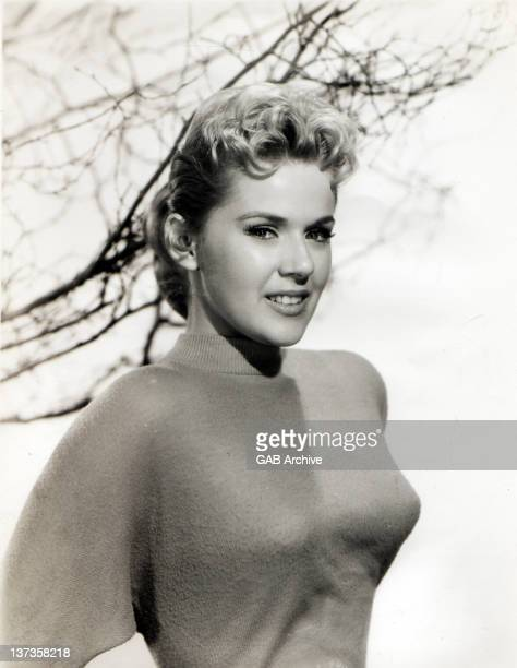 Photo of American actress and singer Connie Stevens posed in 1958