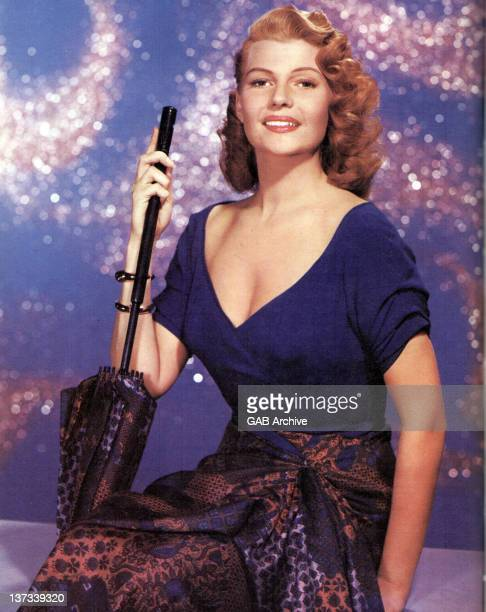 Photo of American actress Rita Hayworth posed circa 1945
