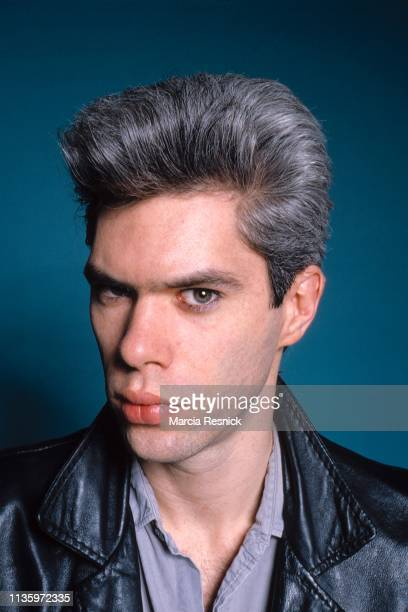 Photo of American film director and musician Jim Jarmusch, New York, New York, 1982.