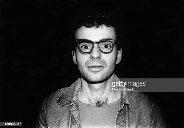 Photo of American Pop artist Ronnie Cutrone New York New York 1979
