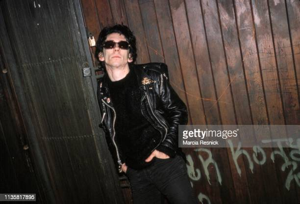 Photo of American Punk musician Stiv Bators of the group the Dead Boys New York New York 1978