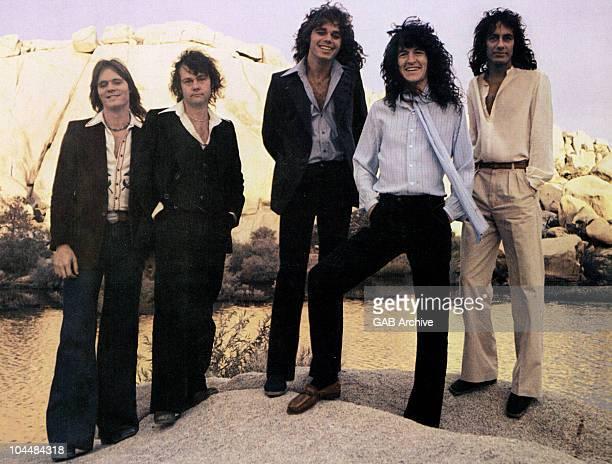 Photo of American Rock band REO Speedwagon