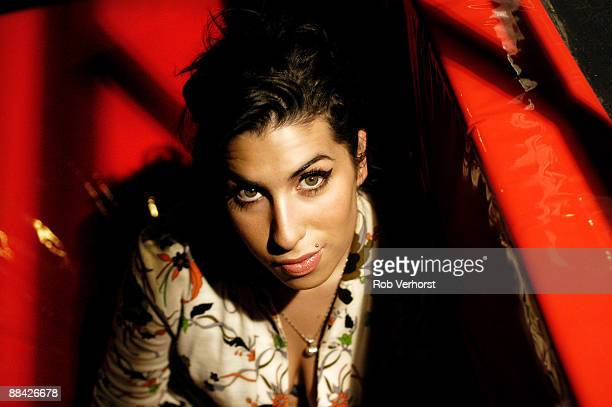 ROTTERDAM Photo of Amy WINEHOUSE Amy Winehouse Rotterdam Foto Rob Verhorst