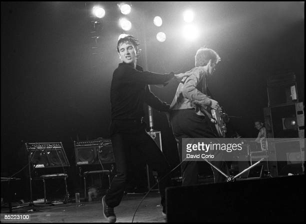 LYCEUM Photo of Andy GILL and Jon KING and GANG OF FOUR LR Jon King Andy Gill