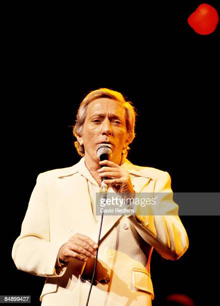 HALL Photo of Andy WILLIAMS Andy Williams performing on stage
