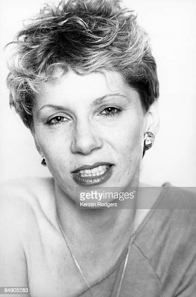 Photo of Angie BOWIE; Posed studio portrait of Angie Bowie