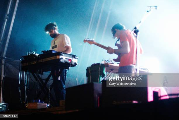 SOUND Photo of ANIMAL COLLECTIVE Geologist performing on stage