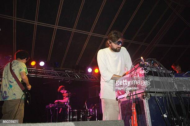 FESTIVAL Photo of ANIMAL COLLECTIVE Reading festival 2006 Animal Collective carling stage