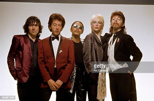 Photo of Annie LENNOX and Dave STEWART and TOURISTS; Annie Lennox , Dave Stewart