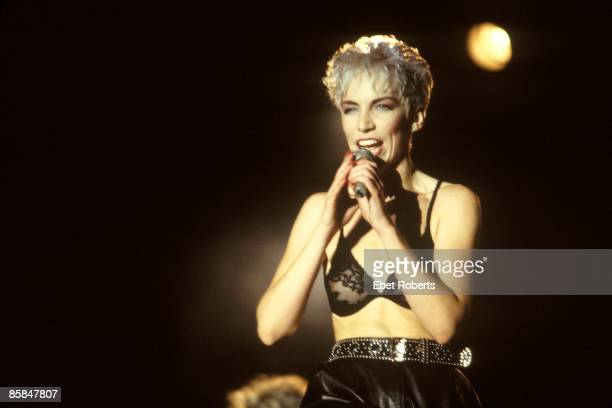 UNITED STATES SEPTEMBER 01 Photo of Annie LENNOX and EURYTHMICS