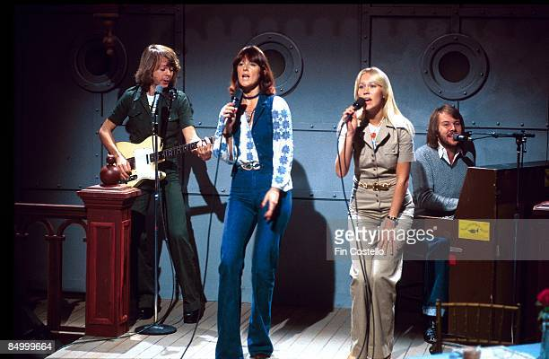 Photo of AnniFrid LYNGSTAD and ABBA and Bjorn ULVAEUS and Benny ANDERSSON and Agnetha FALTSKOG LR Bjorn Ulvaeus AnniFrid Lyngstad Agnetha Faltskog...
