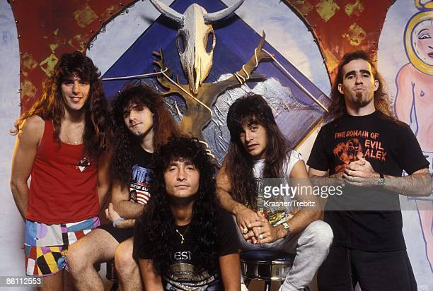Photo of Anthrax Anthrax photographed in New York City in 1988