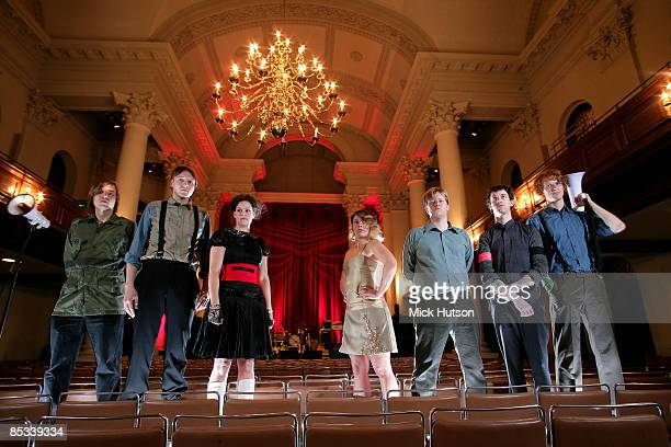 Photo of ARCADE FIRE and Will BUTLER and Win BUTLER and Regine CHASSAGNE and Sarah NEUFELD and Tim KINGSBURY and Jeremy GARA and Richard Reed PARRY...