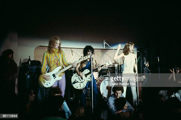 BIBA Photo of Arthur KANE and David JOHANSEN and NEW YORK DOLLS and Sylvain SYLVAIN LR Arthur Kane Sylvain Sylvain and David Johansen performing on...