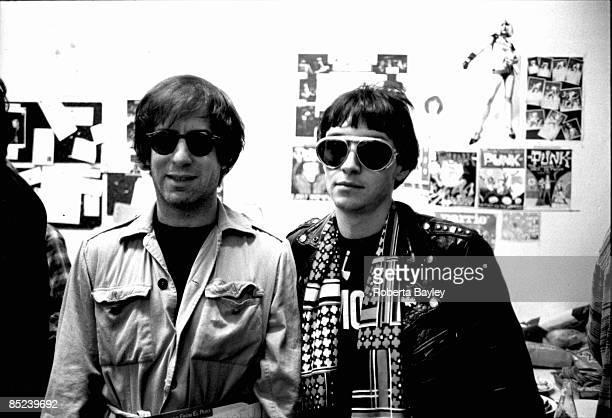 Photo of Arturo VEGA and RAMONES and Danny FIELDS Danny Fields Arturo Vega