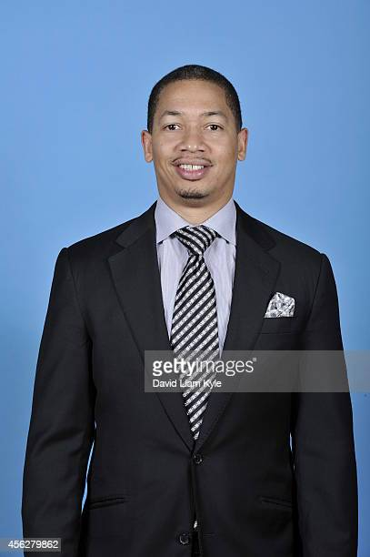 Photo of Assistant Head Coach Tyronn Lue of the Cleveland Cavaliers on Media Day at The Cleveland Clinic Courts on September 26 2014 in Independence...