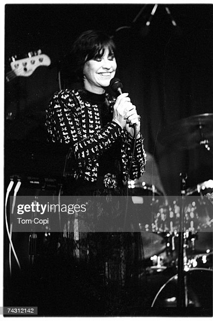 Photo of Astrud Gilberto performing in Oakland, California. Circa 1990