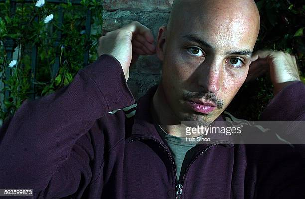 Photo of Austin Chick at the Elixir Tea Garden in West Hollywood Calif Friday March 28 2003 Chick writer–director of XX/XY which is a sophisticated...
