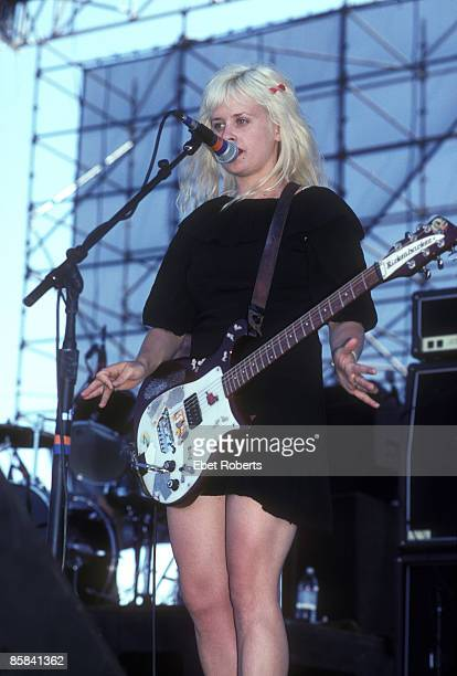UNITED STATES JUNE 20 LOLAPOLOOZA Photo of BABES IN TOYLAND Kat Bjelland performing live onstage in Portland Oregon on 20th June 1993