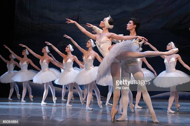 Photo of BALLET and SWAN LAKE Ballet dancers performing Swan Lake on stage
